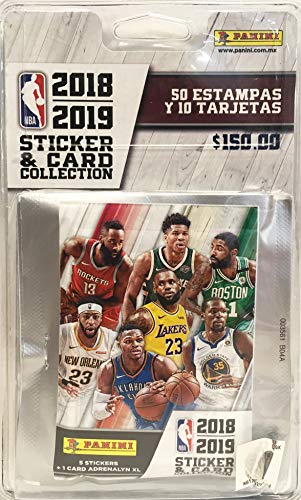 e2054eb5be737 Panini 6 Hüllen, NBA 2018-19, 2424-038