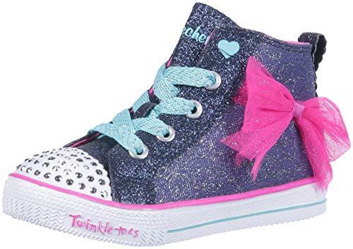 uffle Lite-Harmony Hearts Hohe Sneaker, Blau (Navy/Hot Pink Nvhp), 26 EU ()