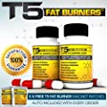 x2 T5 Fat Burners : Strongest Legal Diet & Weight Loss Pills (2 Month Supply) + 5 FREE T5 FAT BURNING PATCHES from Biogen Health Science