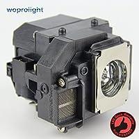 Woprolight ELP LP54 - Lámpara de repuesto con carcasa para proyectores Epson