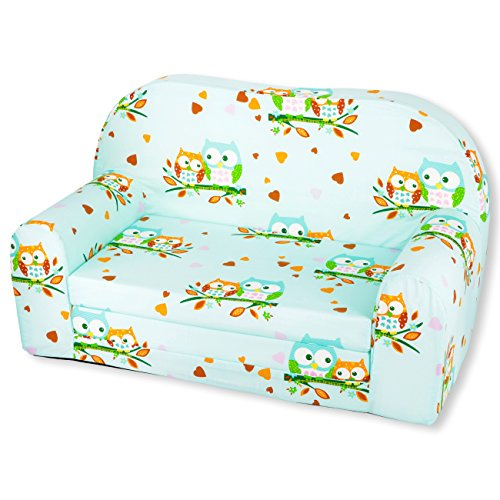 Kindersofa Kindersessel Kindercouch Kindermöbel Klappsessel Bettfunktion Sofa DESIGN 8