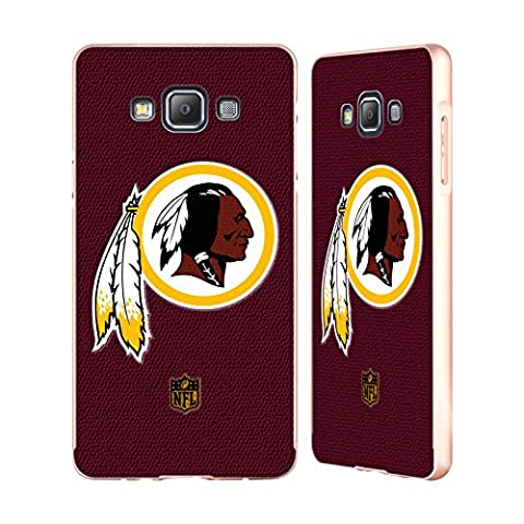 Officiel NFL Football Washington Redskins Logo Or Étui Coque Aluminium Bumper Slider pour Samsung Galaxy A7