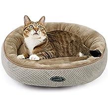 Pecute Cama para Mascotas Colchoneta Basic para Perros y Gatos (pequeña: 50cm de diámetro