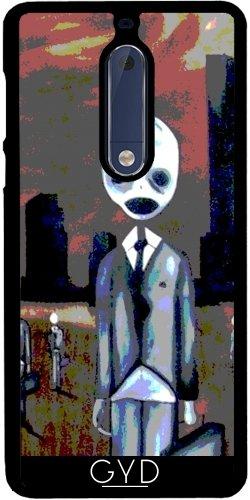tArtists Hülle für Nokia 5 - Creepy Menschen by hera56 ()