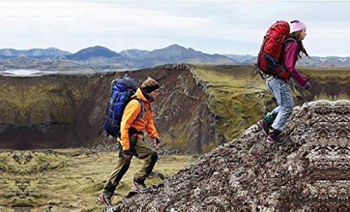 HWLXBB Outdoor Rucksack Sport Reisen Bergsteigen Tasche Walking Wasserdichte Rucksack 60L Rucksack E