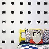 Cool Wenig Helden Maske selbstklebend Wandtattoo Batman Super Hero Maske Kid Schlafzimmer Abziehbilder