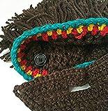 Da.Wa Vagabond Bild Lustige Hüte Wintermütze mit Bart für Weihnachtstag oder Eine Maskerade - 7