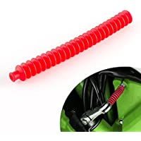 funda del cable de embrague clutch cable boot silicon de color rojo
