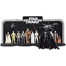 Star Wars - Play Set especial Black Series del 40 Aniversario del episodio IV, set de 4 piezas (Hasbro C1626EU4)