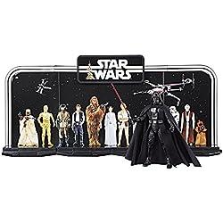 Star Wars - Play Set especial Black Series del 40 Aniversario del episodio IV, set de 4 piezas (Hasbro C1626EU4)