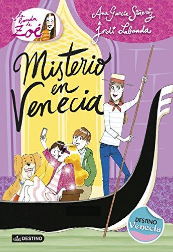 Portada del libro Misterio en Venecia: La Banda de Zoé 9