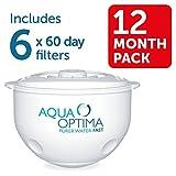 Aqua Optima  SWP336 1 years' supply, 60 Day Water Filter 6 pack