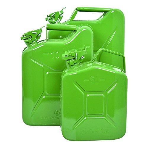 Carpoint 0110009 Benzinkanister 20 L Metall TUV/GS, grün