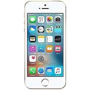 "Apple iPhone SE Single SIM 4G 16GB Gold,White smartphone - smartphones (10.2 cm (4""), 640 x 1136 pixels, IPS, 800:1, Multi-touch, 500 cd/m²)"