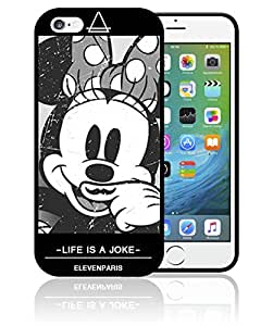 Coque iPhone et Samsung Minnie Eleven Paris Life is a joke Disney Mickey Swag Moustache0328 Etui