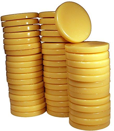 epilwax S.A.S-Galets de cire Pinzette pelable Honig-Sachet de 1kg Warmwachs wiederverwendbar, Qualität Extra Professionelle.