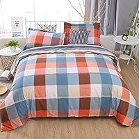 Unimall Funda Nordico cama 90, Dos piezas Una funda para edredon 155 x 220cm y una funda almohada 50 x 70cm, 100% de algodon (3)