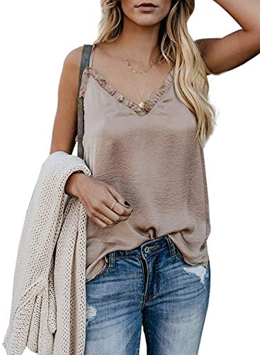 Bobopai Women's Loose Short Sleeve T-Shirt Casual V Neck Tops High Low Design Screen-print Sweatshirt