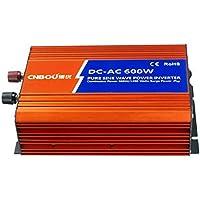 Inversor de onda senoidal pura 600W 1200W pico 12V DC a 230V AC con USB