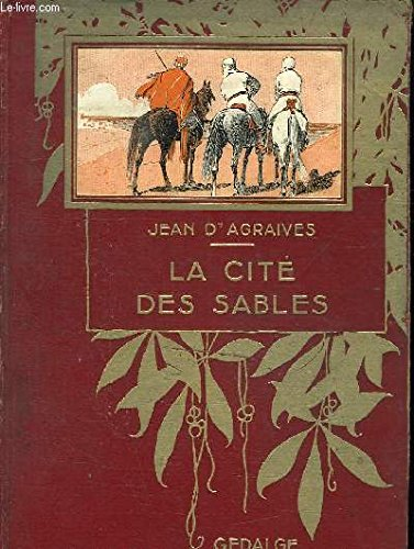 Portada del libro La Cité des sables