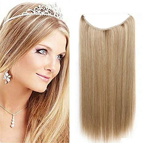 RemeeHi Haarverlängerung, 20 inch 120g, 613# Blond - Bleach Blonde -