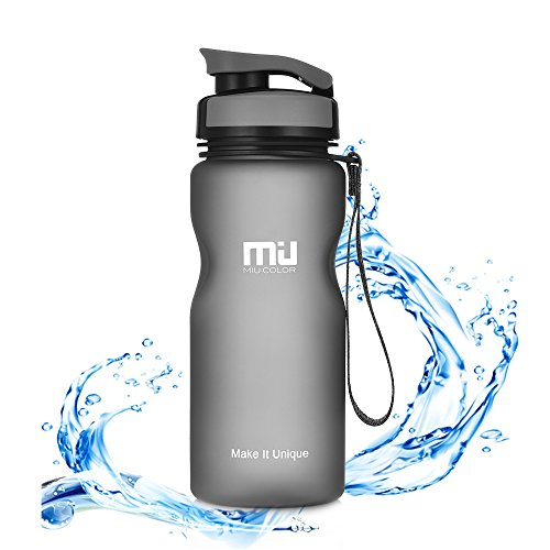 MIU COLOR – Botella de agua botella de Tritan 600 ml & 950 ml si