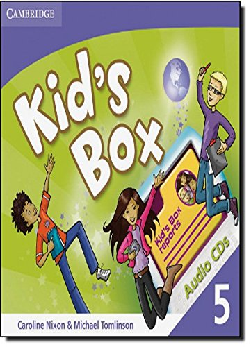 Kid's Box 5 Audio CDs (3) - 9780521688277