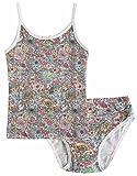 Vaenait baby 86-122 Maedchen Kinder Unterwaesche Set Lacy Flower Pink S Underwear