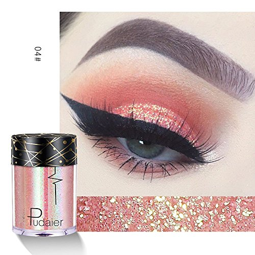 MODEOR Multipurpose Shimmer Glitter Eye Shadow Powder Palette Matte Eyeshadow Cosmetic Makeup - Long Lasting & Water-tight (D2) -