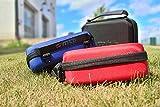 mtb more energy® Schutztasche XL für Sony FDR-X1000V, X3000R / HDR-AZ1, AS300(R), AS200V, AS100V, AS50 … – Schwarz – Koffer Case Stecksystem Modular - 7