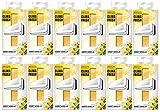 Areon Klima Fresh Süße Vanille Lufterfrischer Haus Klimaanlage Original Parfum Geruch gelb Haus Wohnzimmer Zimmer Büro Shop Langlebig Moderne (Sweet Vanilla Pack von 12)