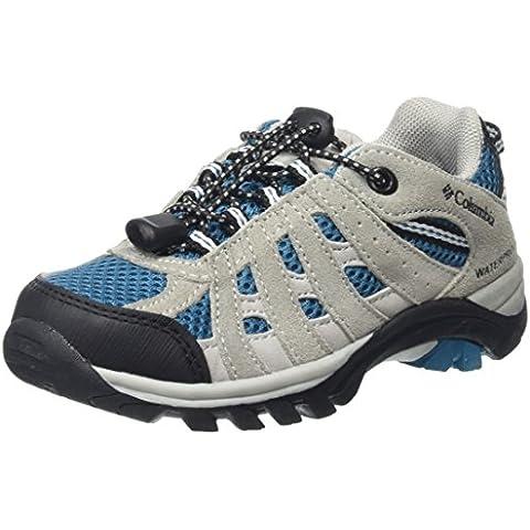 Columbia CHILDRENS REDMOND EXPLORE WATERPROOF - zapatillas de trekking y senderismo de piel Niños^Niñas
