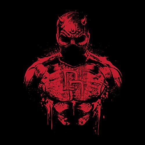 Daredevil The Man Without Fear Women's Hooded Sweatshirt Black
