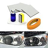 iTimo - Kit de reparación de faros delanteros de coche para aumentar la visibilidad y la claridad, antiarañazos