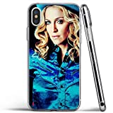 XEKPMECWUD Doamq Transparente stoßfeste Telefonabdeckung Drrngj TPU Case Design Nlmye Für iPhone XR Hülle