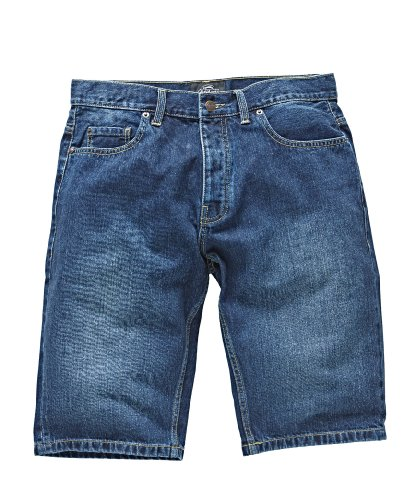Dickies - Michigan Short, Pantaloncini sportivi Uomo, Blu (Stonewash), W31 (Taglia Produttore: 31)