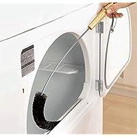 Gwill Dryer Cepillo de ventilación para secadora, flexible, para rejilla de ventilación, larga pelusa, limpiador de trampas, limpiador de pelusas, herramienta de limpieza de conducto de tubería por 72 cm