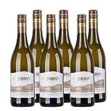 Jordan Chardonnay unoaked Stellenbosch Weißwein Südafrika 2017 trocken (6x 0,75l)