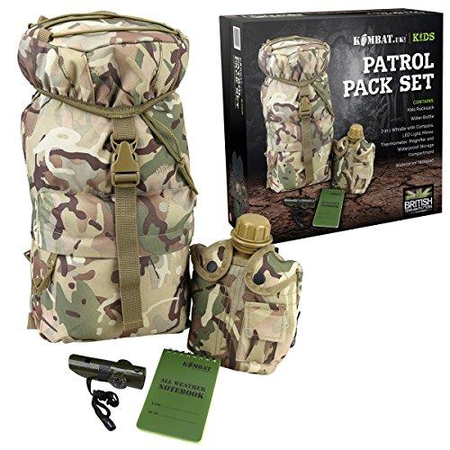 Kombat UK Kids Patrol Pack BTP-Set, mehrfarbig