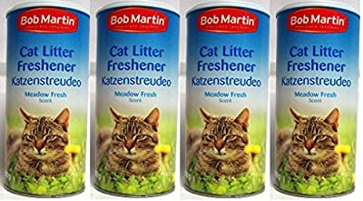 4 Pack Bob Martin Cat Litter Freshner Meadow Fresh Scent 500g - Just Simply Sprinkle from Bob Martin
