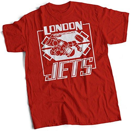 bybulldog London Jets Mens Heavyweight T-Shirt