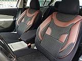 Sitzbezüge k-maniac | Universal schwarz-rot | Autositzbezüge Set Vordersitze | Autozubehör Innenraum | Auto Zubehör für Frauen und Männer | V333382 | Kfz Tuning | Sitzbezug | Sitzschoner
