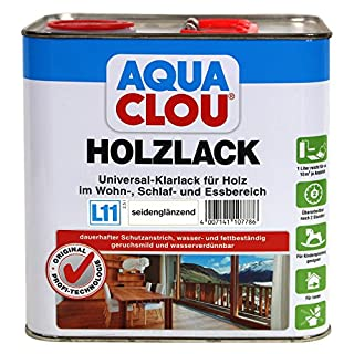 Holzlack L11 seidenglänzend 2,5 L