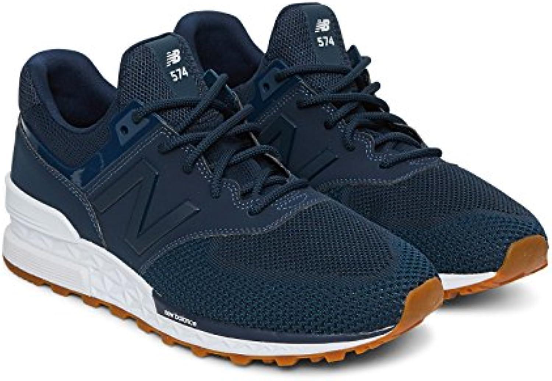 New Balance MS574 Emb - Blue  Zapatos de moda en línea Obtenga el mejor descuento de venta caliente-Descuento más grande
