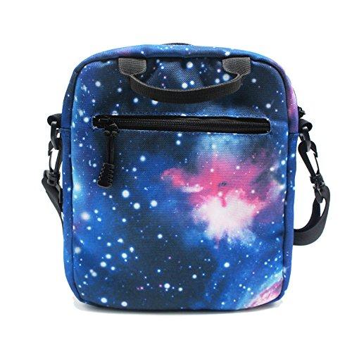 Artone Mh Serie Unisex-Adulto Universo Nylon Casuale Daypack Borsa Crossbody blu