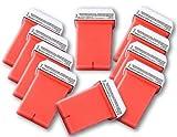 Kit de cartouches de cire 10x 50ml pour appareil Veet Easy Wax pour épilation