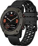 Denver SW-650 - Reloj Inteligente con Bluetooth y GPS, medidor de frecuencia cardíaca y presión Arterial, Color Negro