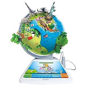 Oregon Scientific SG-268-R – Globo terráqueo Smart Globe Adventure AR