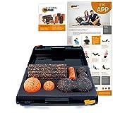 Blackroll Orange Die Faszienrolle - SMR-Set, Groove Standard, inkl. Koffer, Übungs-Poster und -Booklet