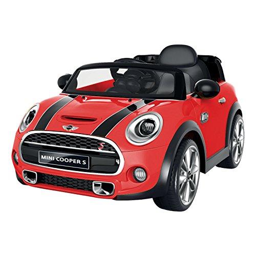 voiture-electrique-mini-cooper-rouge